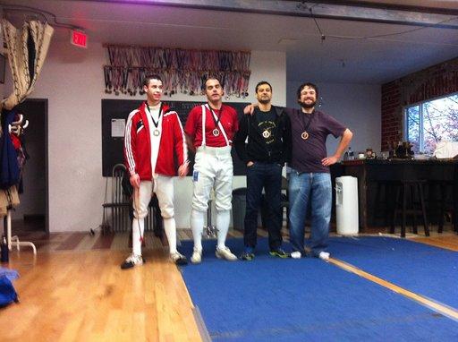 Epee medallists